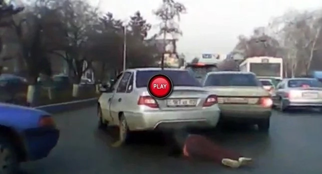 Husband Uses Rope To Tie His Wife To Car And Drags Her Down Street
