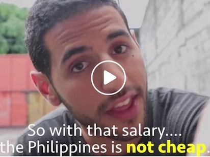 International blogger exposes how Filipinos work hard to earn low wages