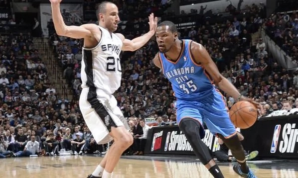 Oklahoma City Thunder stuns San Antonio Spurs; Takes 3-2 lead in Western Conference Semis