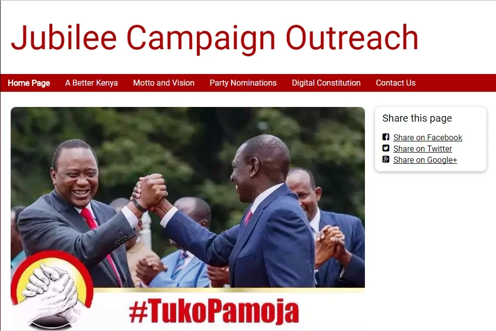 Here are the con men using Jubilee party to swindle money from unsuspecting Kenyans