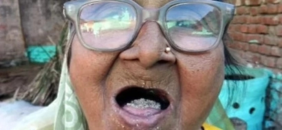 Woman eats one kilo of SAND a day for 80 years, claims to be perfectly healthy (photos, video)