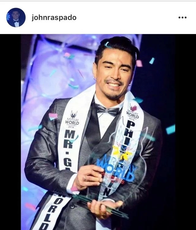 Mr. Gay World 2017 is Mr. Philippines - Another Victory for the Country!