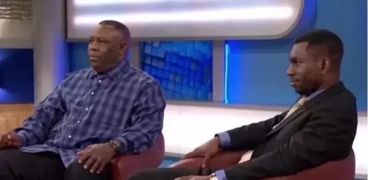 Baba aangua KILIO mbele ya televisheni alipogundua kijana wa miaka 32 si mwanawe halisi (picha)