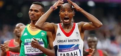 Top Athlete Mo Farah's Gold Wins At Risk