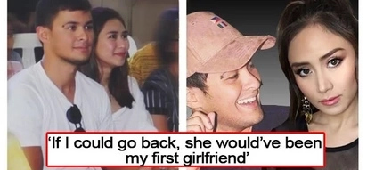 Super inlove! Matteo says Sarah would have been his first girlfriend if he could travel back in time