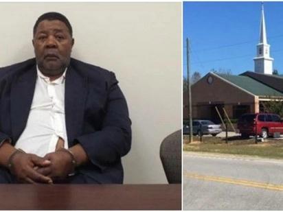 South Carolina Churchgoer Stabs Fellow Parishioner. Because God Said So?!