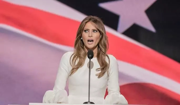 Wedding dress for $200 000 or 11 other facts about the new First Lady of the USA