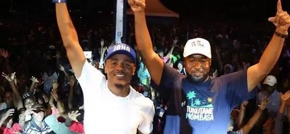 Joho's role in the multi million Chris brown concert happening this weekend