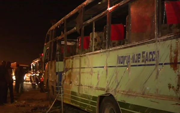Imara Daima bound bus rolls along Mombasa road
