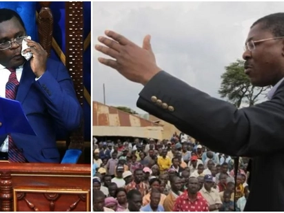 Senate Speaker Ken Lusaka approves ODM's decision to kick out Wetangula