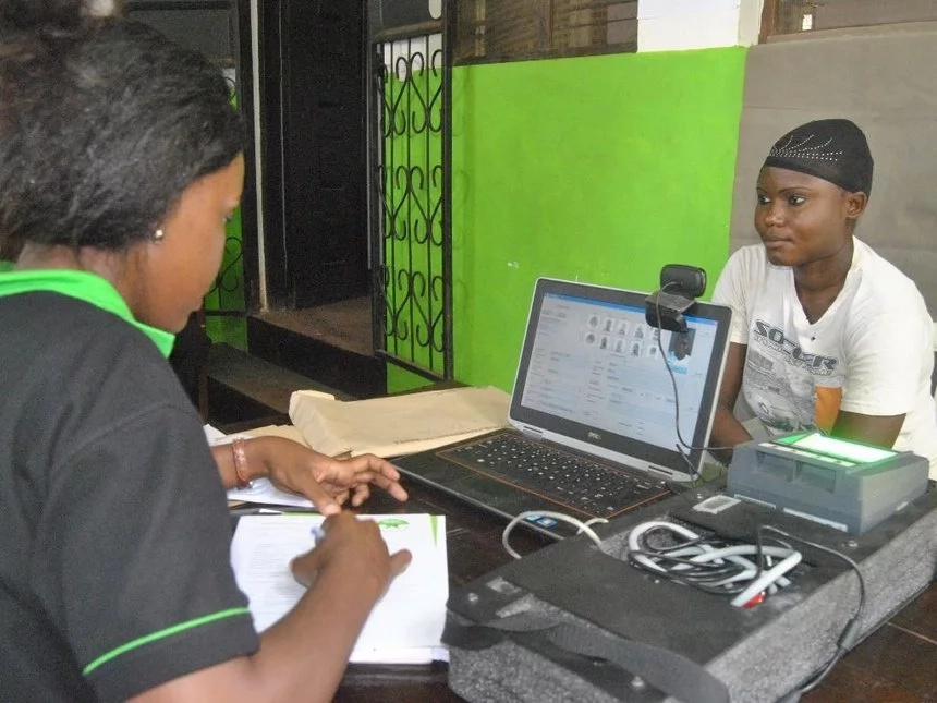 Counties leading in voter registration as the exercise ends today Thursday, February 16