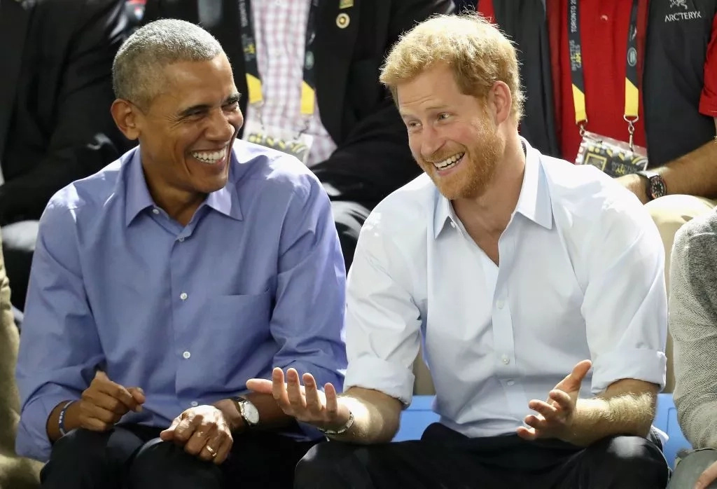 Evidence suggests that Prince Harry and President Obama are becoming close friends