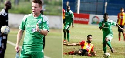 Gor Mahia coach Kerr blasts Esperance goalkeeper for using delay tactics