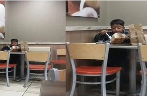 Mother shares heartbreaking story of a kid who's having breakfast all alone. Parents, where are you?