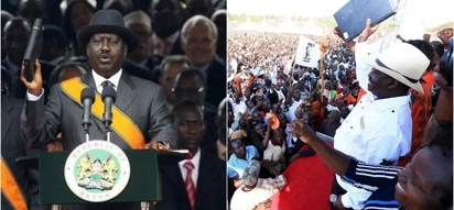 If swearing-in will cost my life or send me to jail, I am ready - Raila Odinga