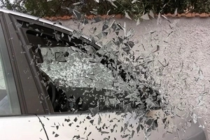 Furious Wife Smashes Husband's Mercedes! Wife Hits Husband's Posh Car With Her Toyota Fortuner. Find out the story here.