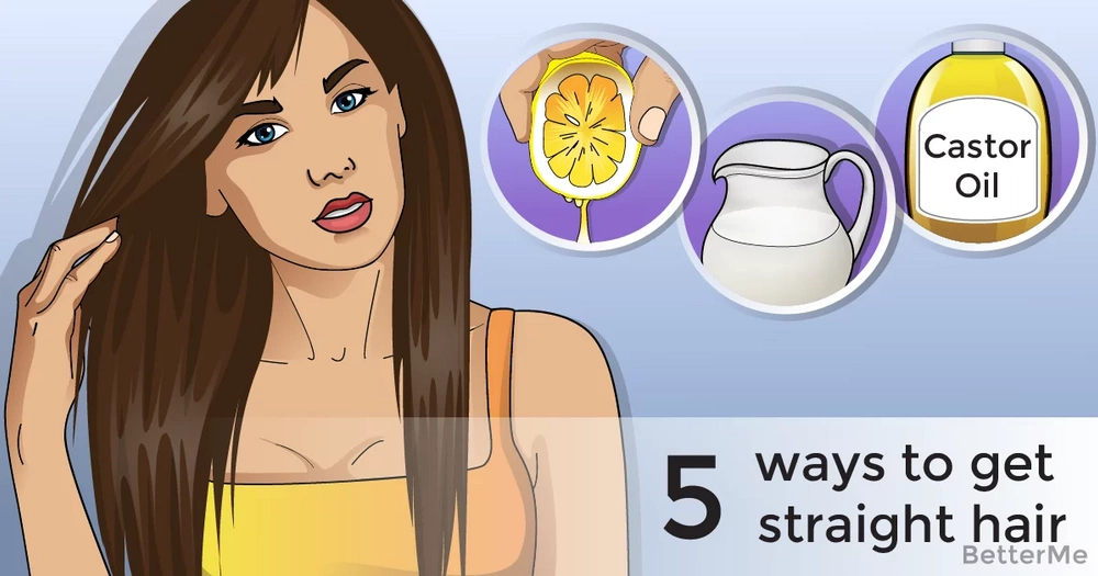 5 natural ways to get gorgeous straight hair