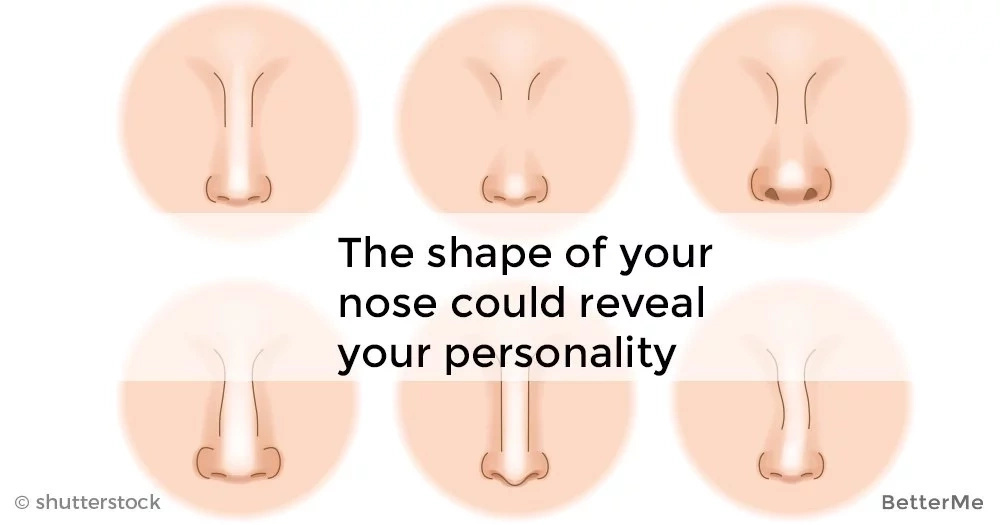 The shape of your nose could reveal your personality
