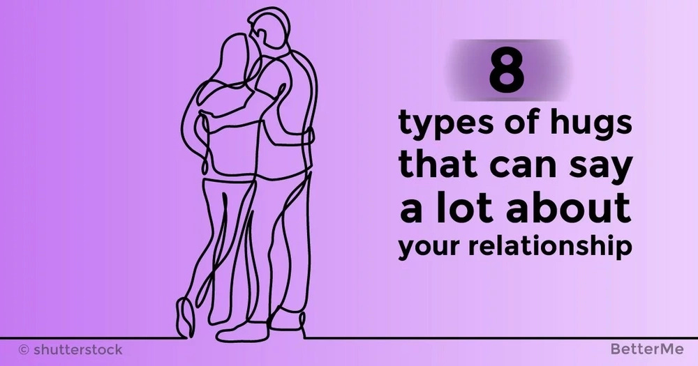 8 types of hugs that can say a lot about your relationship