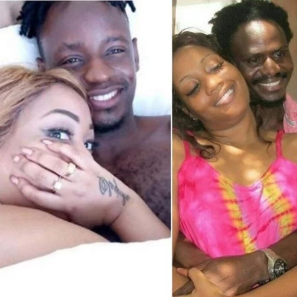 Diamond's ex-lover busted cheating on new hubby barely two moths after death of ex-hubby