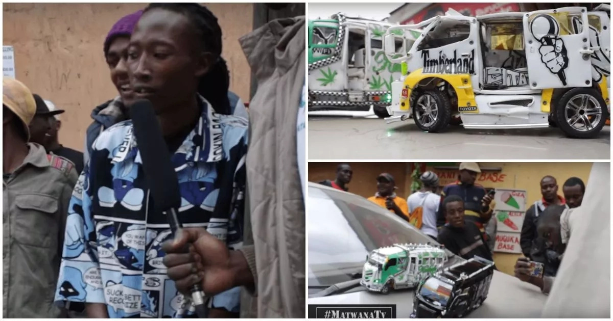 This minibuses conductor has a special talent and it will amaze you (photo)