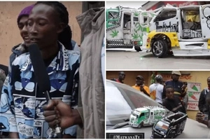 Meet Nairobi matatu conductor with a SPECIAL talent for making toy matatus (photos, video)