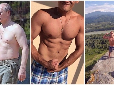 Take off your shirt and be like Putin! Russian President inspires topless photos internet craze