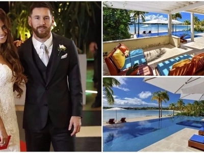 See the stunning Ksh460,000-a-night holiday resort where Lionel Messi and his wife are on honeymoon