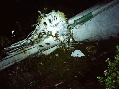 Plane Packed With Brazilian Footballers Crashes In Columbia