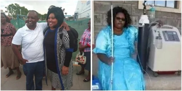See how blind woman left Kenya for India blind, depending on artificial oxygen but here is a miracle (photos, video)