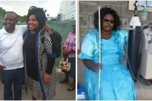 Gladys Kamande left Kenya for India BLIND, depending on artificial oxygen BUT here is a miracle (photos)