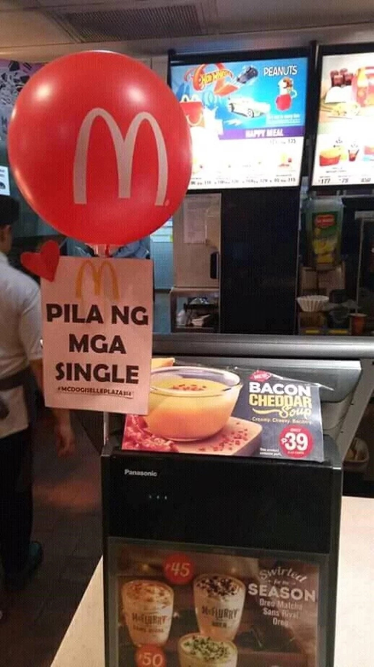 McDonald's Valentine's Day gimmick goes viral
