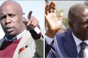 Gideon Moi's statement after William Ruto restored calm in Baringo proves his hatred for the DP