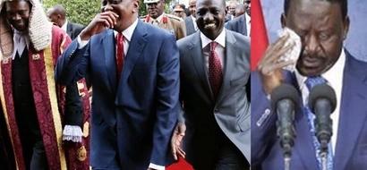 Uhuru kumshinda Raila 2017 - Kura ya maoni