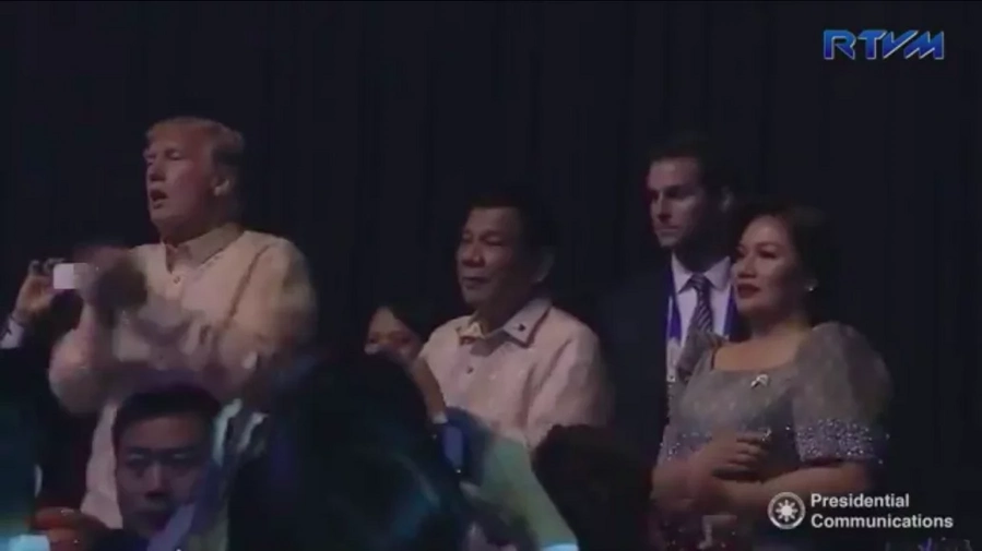 Trump gives standing ovation to Filipino performers at ASEAN gala dinner