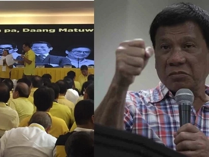 Duterte accuses LP of devious plot to impeach him