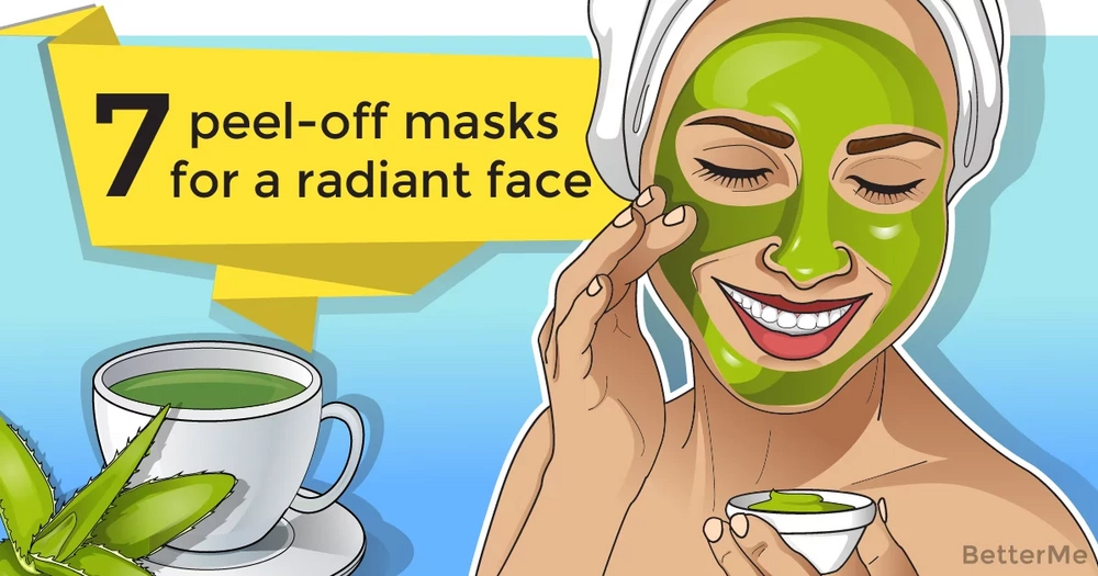 7 peel-off masks for a radiant face