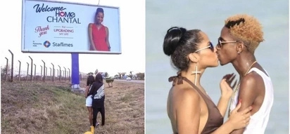 Eric Omondi raises the bar high as he hires an entire billboard to welcome fiance