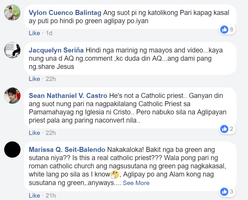 """Ako ba ay magkakasal o maglilibing?"" A newlywed bride rants on Facebook about the ""worst priest"" she ever met"