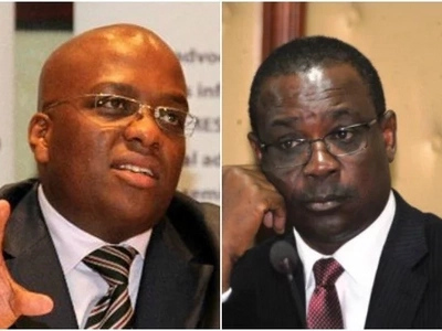 Igathe comes stumbles on garbage at City Hall and he is not amused