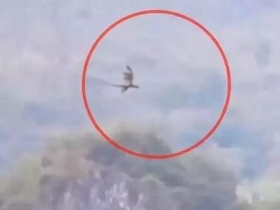 Nakakatakot naman! Scary dragon-like creature caught on video flying in China