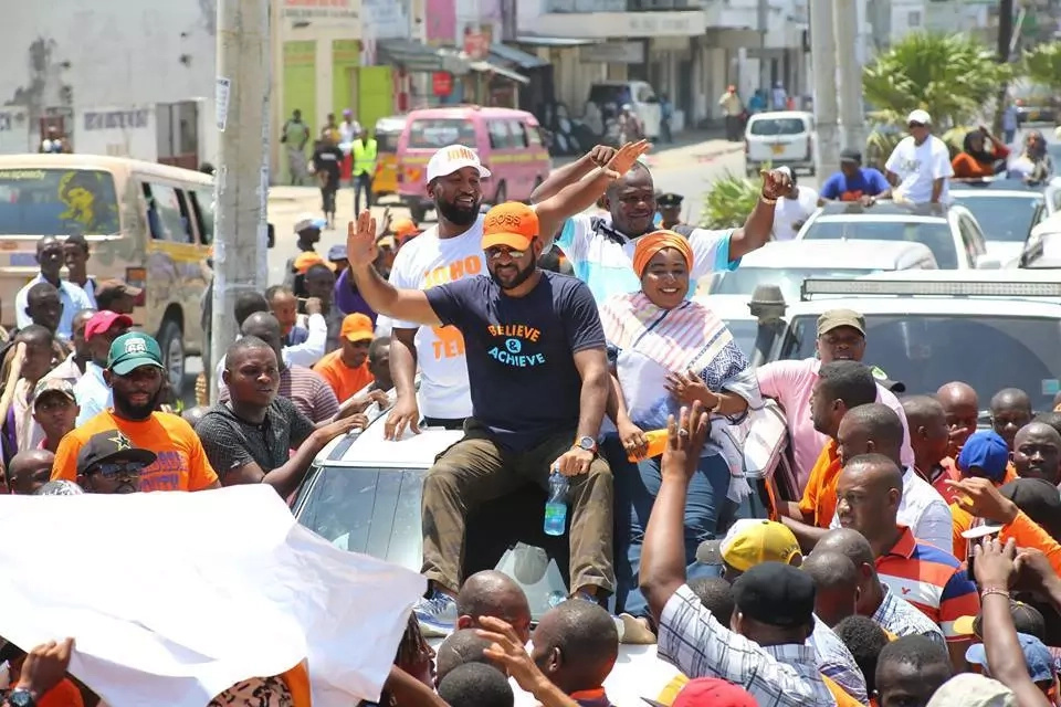 Minutes after Jetting back to Mombasa, Hassan Joho strongly hints at the NASA flagbearer