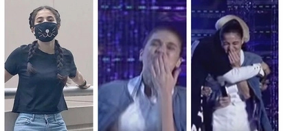 Miss Q&A contestant accidentally hits Anne Curtis's mouth while being interviewed! Niyakap tuloy siya ni Vice Ganda!