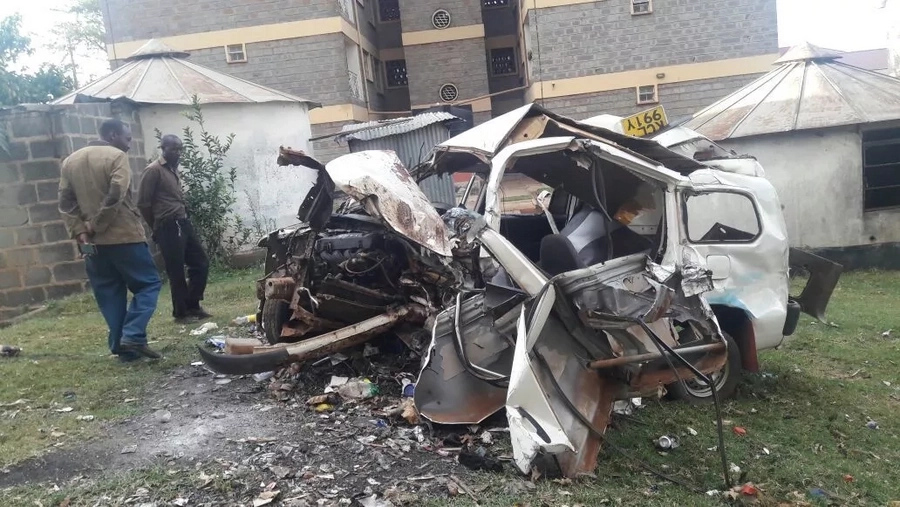Seven people from funeral die in accident involving Probox which should carry five passengers