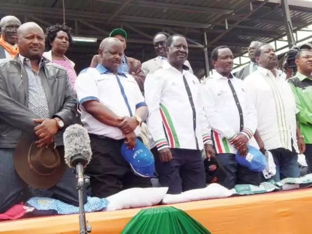 NASA co-principals to SPLIT after Raila's big event in Nairobi