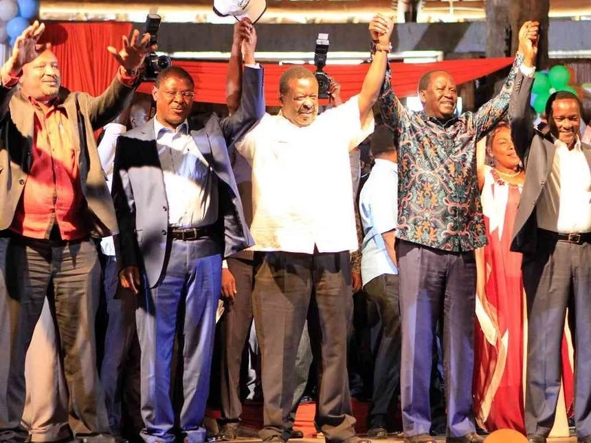 Here is why Kalonzo Musyoka cannot decamp from NASA - ODM speaks