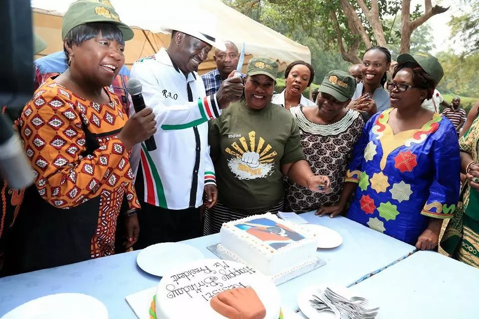 Kenneth Marende and I share something very special - Raila Odinga