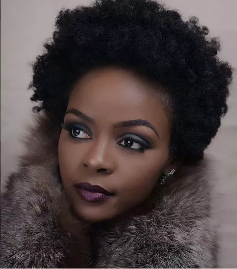 Read and cry, this girl, Sheila Ndinda's hair is goals to any woman