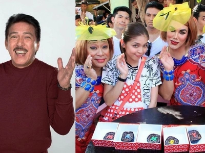 Netizen enraged by Tito Sotto's criticism of cross dressing. How about Kalyeserye lolas?