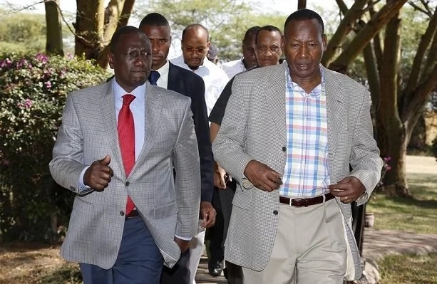 I was in ODM at some point because of Nkaiserry – DP Ruto